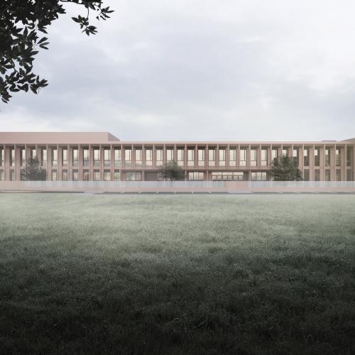 PORTRAYING UNBUILT ARCHITECTURE NEW SCHOOL, 2020