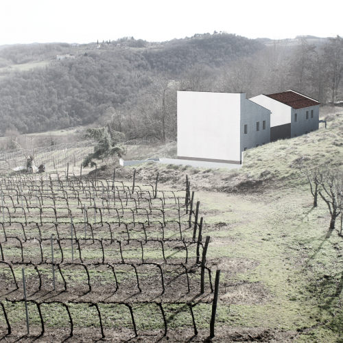 Portraying Unbuilt Architecture Hill Private House, 2016