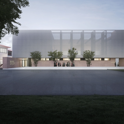 PORTRAYING UNBUILT ARCHITECTURE NEW SPORTS HALL, 2020