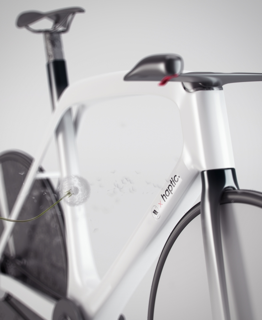 E-bike aVisualizatio X Haptic.