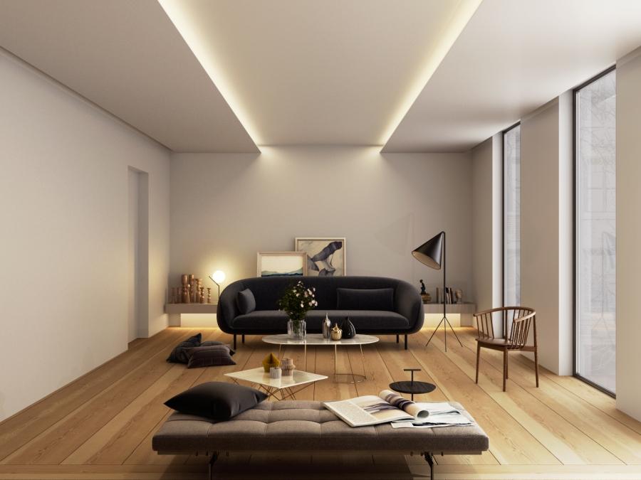 3D RENDERING_INTERIOR DESIGN_living room detail