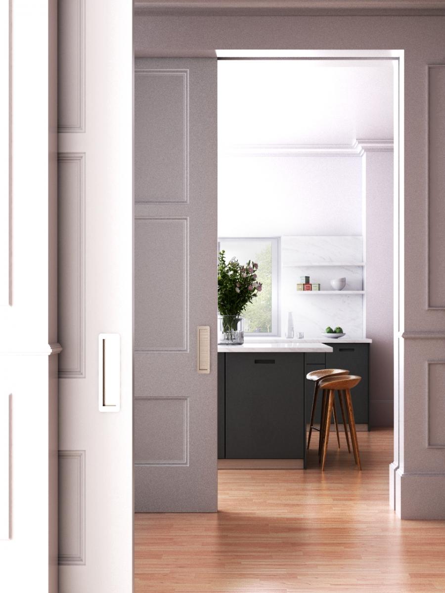 3D RENDERING_INTERIOR DESIGN_kitchen view