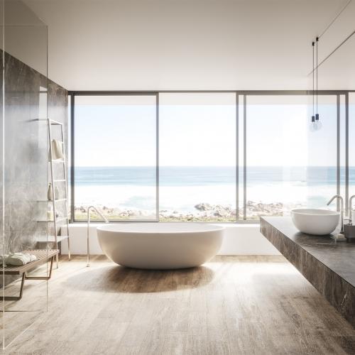 Bathroom sea view - Atlas Plan