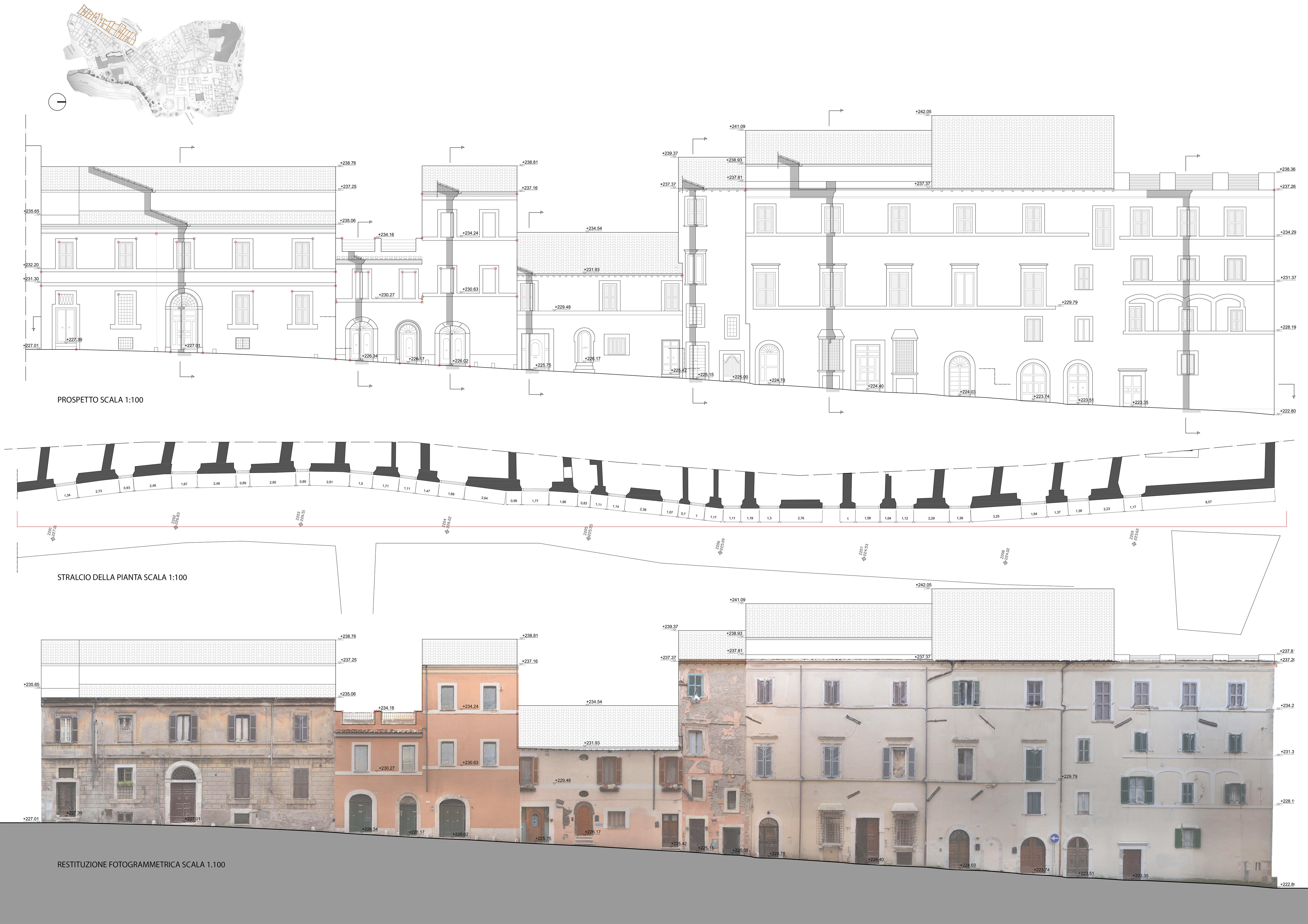 Rilievo e analisi tivoli 1 architettura design for Architettura design