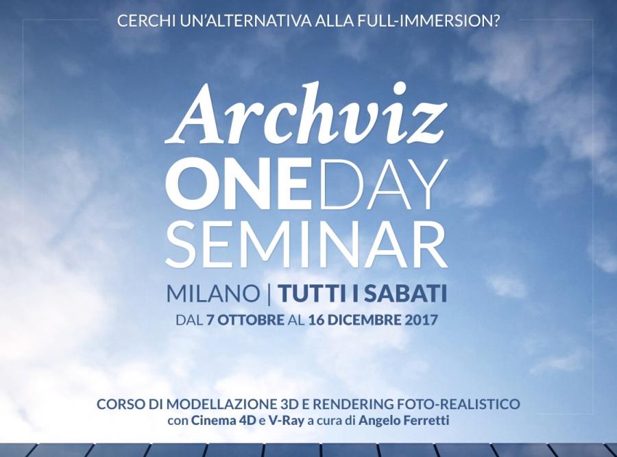 Archviz ONEDAY Seminar 2017