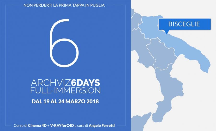 Archviz 6Days Full-immersion in Puglia