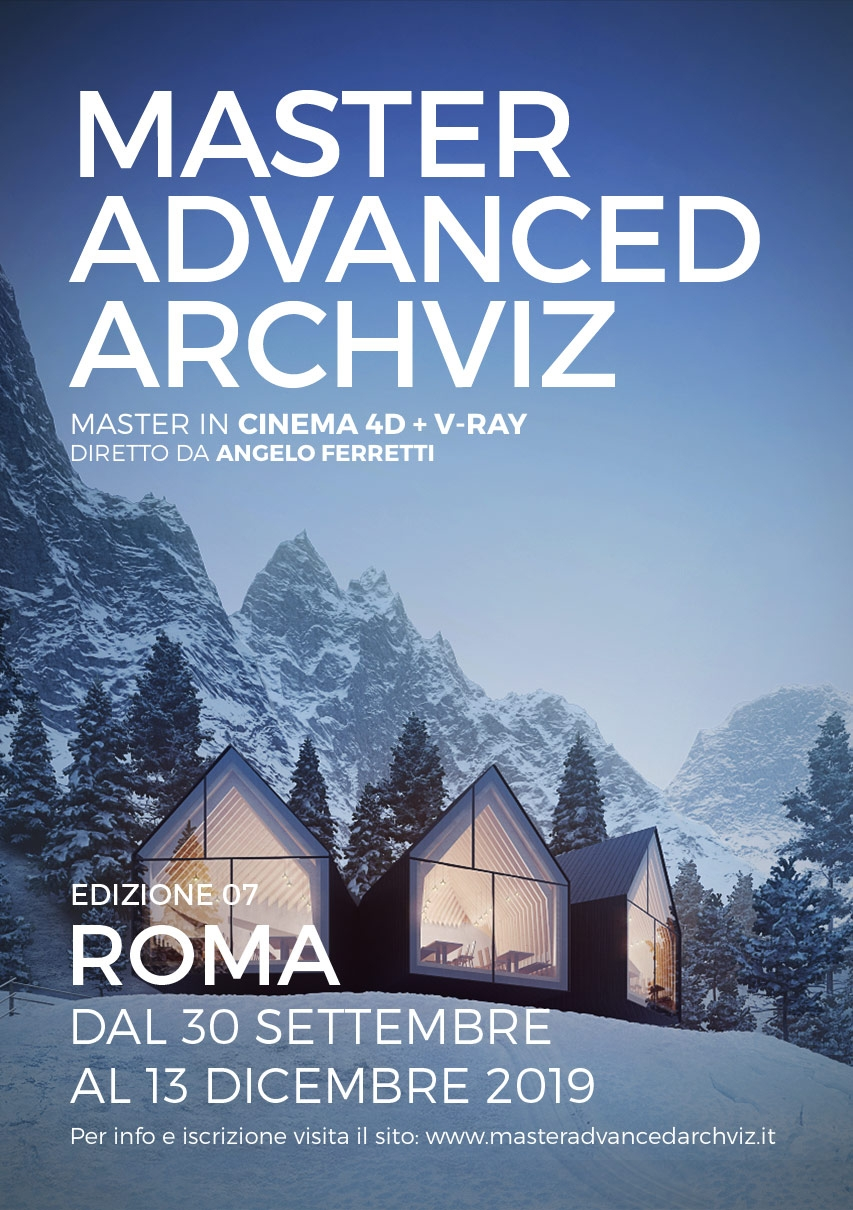 MASTER ADVANCED ARCHVIZ 2019