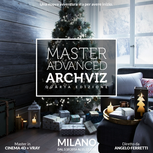 Master Advanced Archviz - Edizione 2016