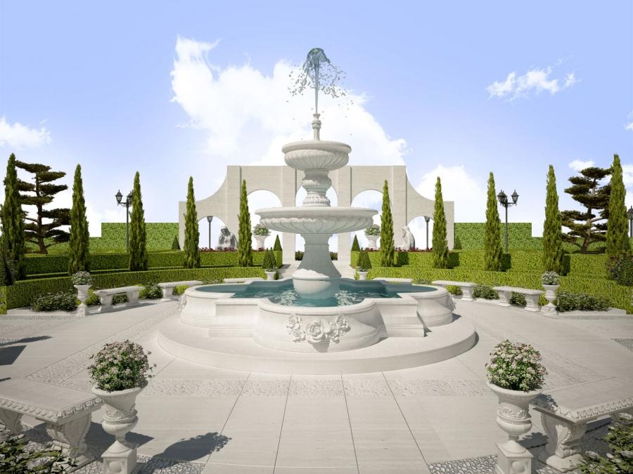 12° International Garden Expo, Nanning - collaboration with Dellavalle giardini
