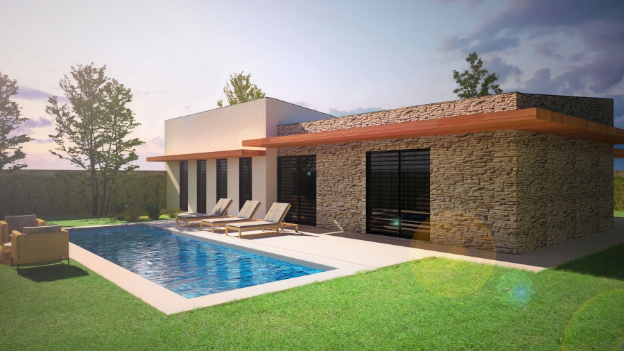 m.a. house - render