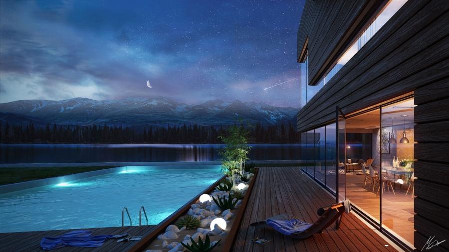 Wood House - RENDER