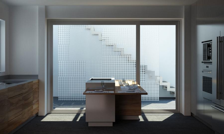 M&M Kitchen - render