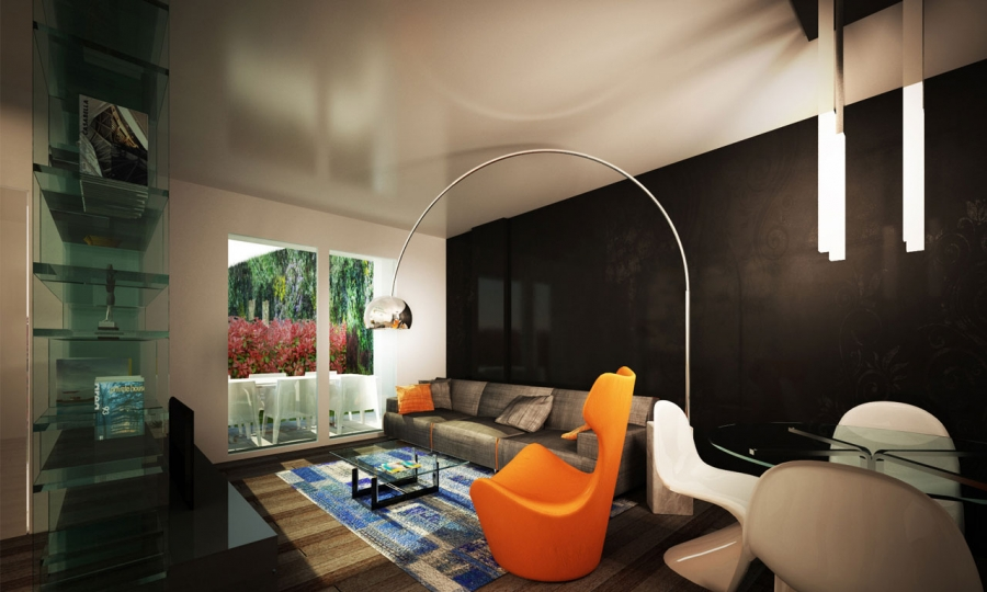 U3 apartment - render