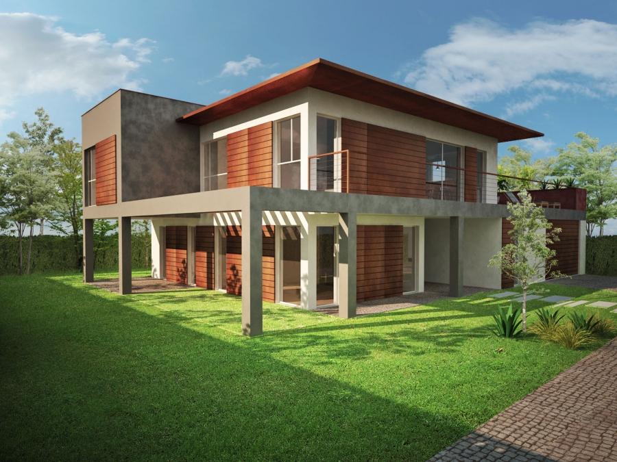 wood & green - render