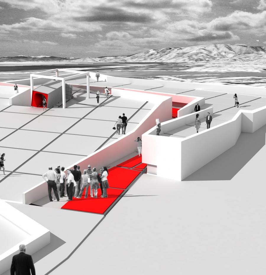 Il container monumentalizzato come contenitore di paesaggio