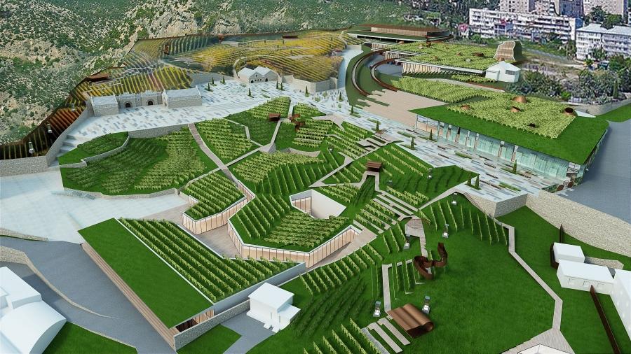 novyi svit winery cultural park