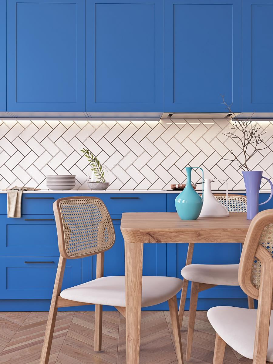Kitchen Classic Blue