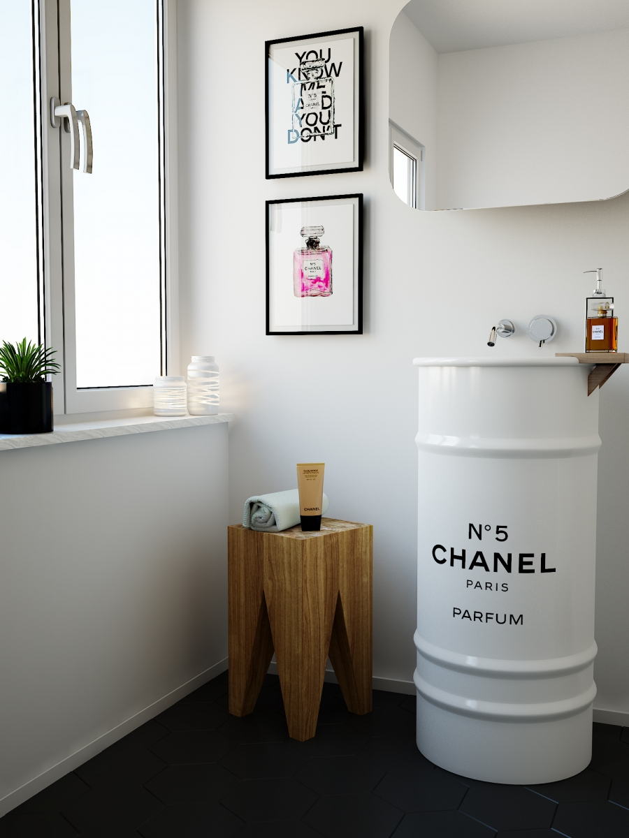 Chanel Bathroom