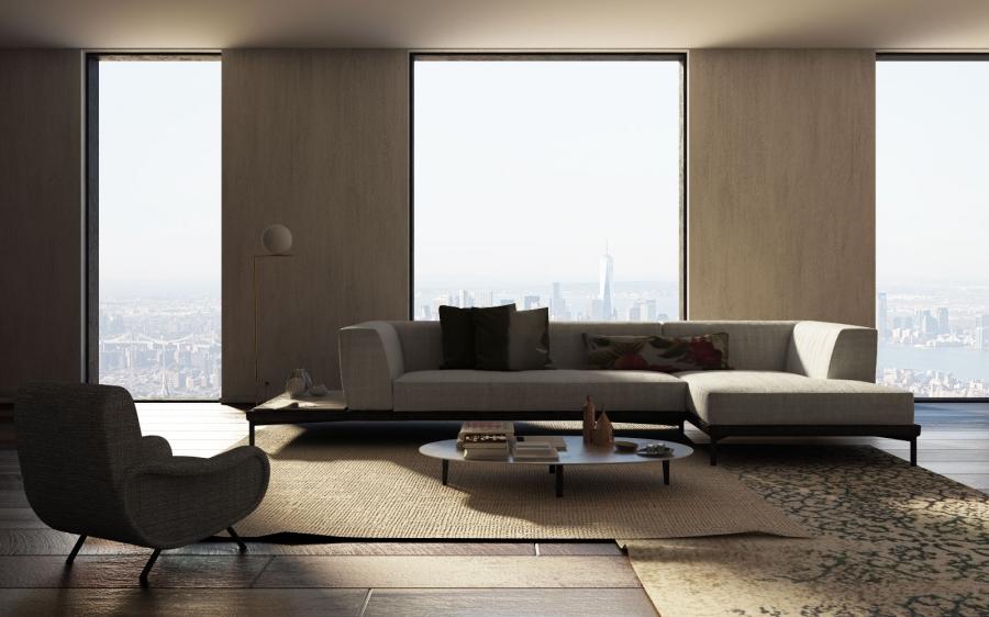 archviz 3D    interior design    living room