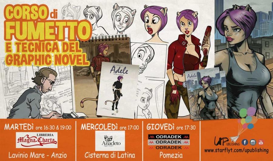 CORSO DI FUMETTO & Tecnica del Graphic Novel