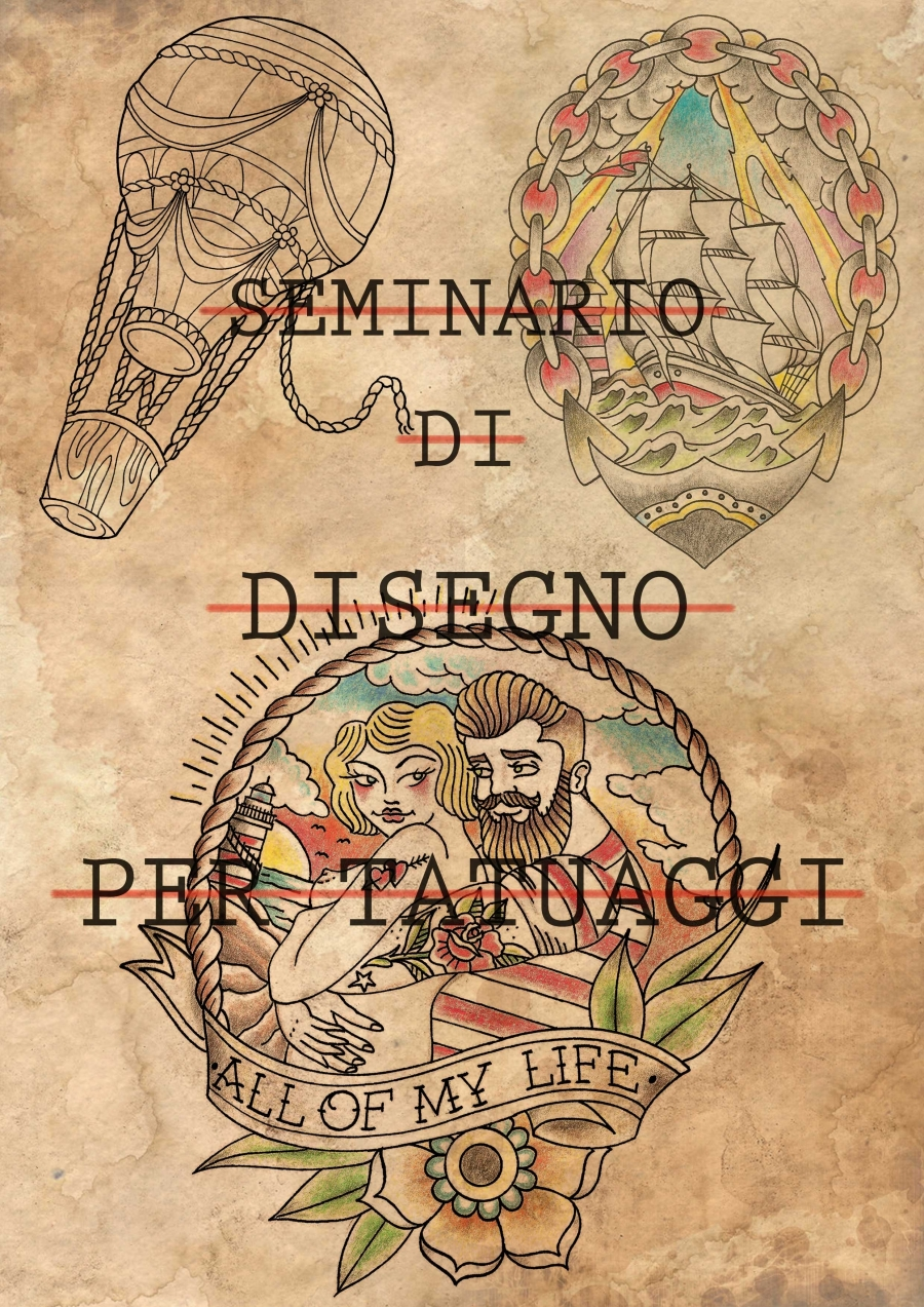 Seminario di Disegno per Tatuaggi